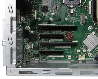HPE ProLiant ML30 Gen10 Server Tower PCIe detail