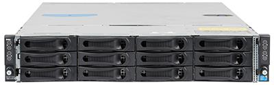dell C6100 blade server front elevation
