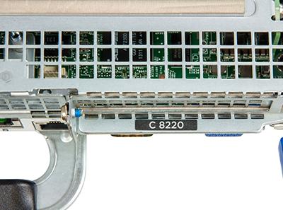 C8220 compute node detail back of system