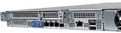 HPE ProLiant DL325 Gen10 Server rear detail