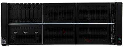 HPE ProLiant DL580 Gen10 Front of system