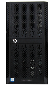 HPE ML150 Gen9 Tower Server Front of system