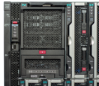 HPE Synergy 12000 Frame with Synergy D3940 Storage module