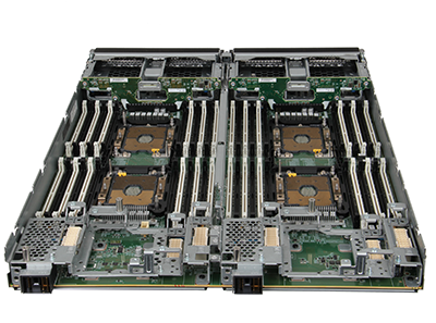 HPE Synergy 660 Gen10 Compute Module rear detail