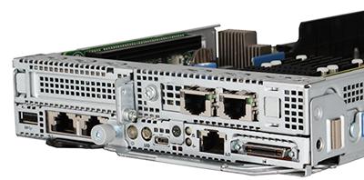 ProLiant XL170r0 Gen10 server rear of system