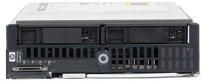 hpe bl460c gen7 server blade front elevation