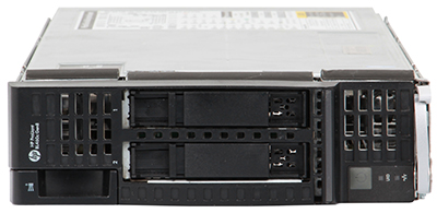 hpe bl460c gen8 server blade front elevation