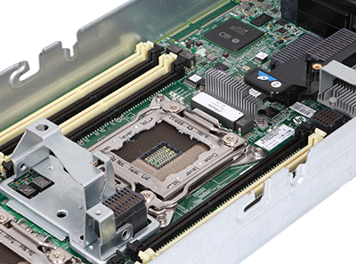 hpe bl460c gen8 detail of motherboard CPU socket