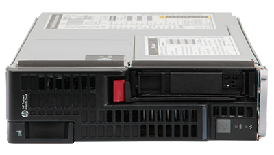 hpe bl465c gen8 server blade front elevation