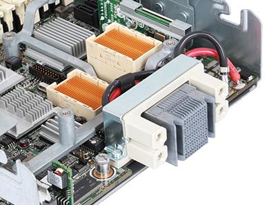 hpe bl490c g6 server back qpi detail