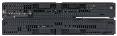 proliant BL680c Gen7 front detail no cover panel