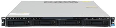 hpe DL120 g7 server front elevation