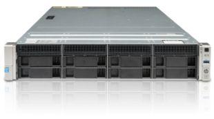 hpe dl180 gen9 server front elevation