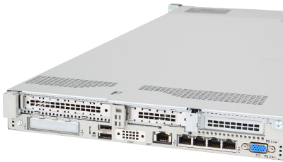 Expansion slots on back of HPE DL360 Gen10