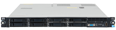 hpe dl360 gen6 front perspective