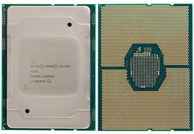 skylake-sp intel xeon scalable silver-series processor with 4 cores