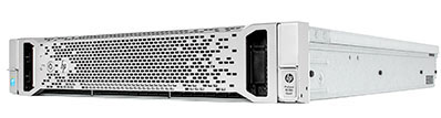 hpe dl380 gen9 front perspective with bezel