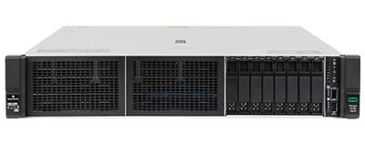 HPE DL385 gen10 server front of system