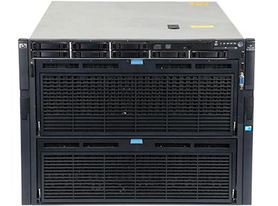 HPE DL980 Gen7 server front of the system