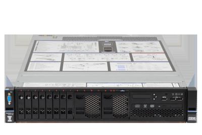 Mid-Range IBM System server