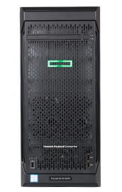 HPE ML110 Gen10 server tower front view