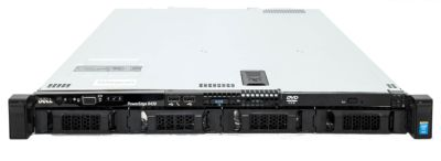 Dell R430 4-bay LFF chassis front image
