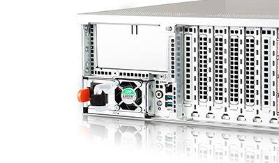 Dell EMC R940 rear of system