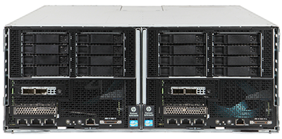 HPE ProLiant s6500 chassis front view