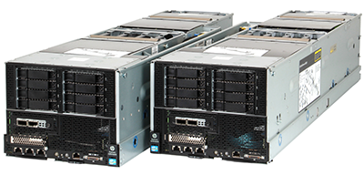 HPE ProLiant SL270s Gen8 server left and right