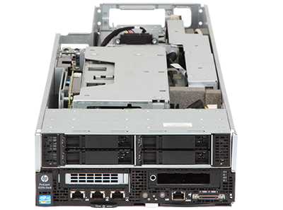 HPE ProLiant SL250s Gen8 server front view