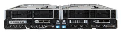 HPE SL250s Gen8 server front of system