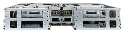 HPE SL250s Gen8 server rear of system
