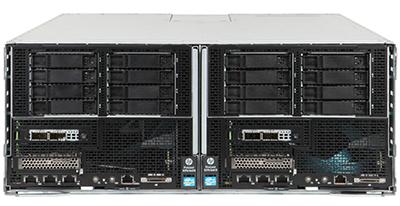hpe sl270s gen8 se server right and left inside HPE s6500
