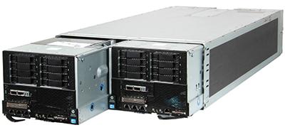 hpe sl270s gen8 server right and left inside HPE s6500