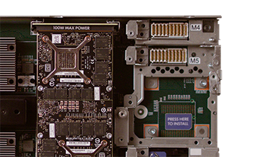 HPE Synergy 480 Gen10 Multi-MXM Graphics Expansion Module detail view