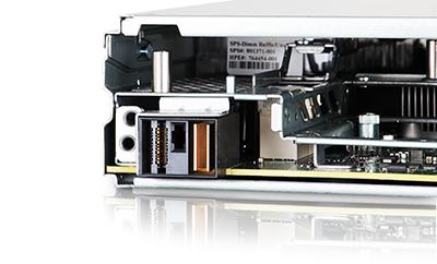 HPE Synergy 480 Gen9 Compute Module rear view