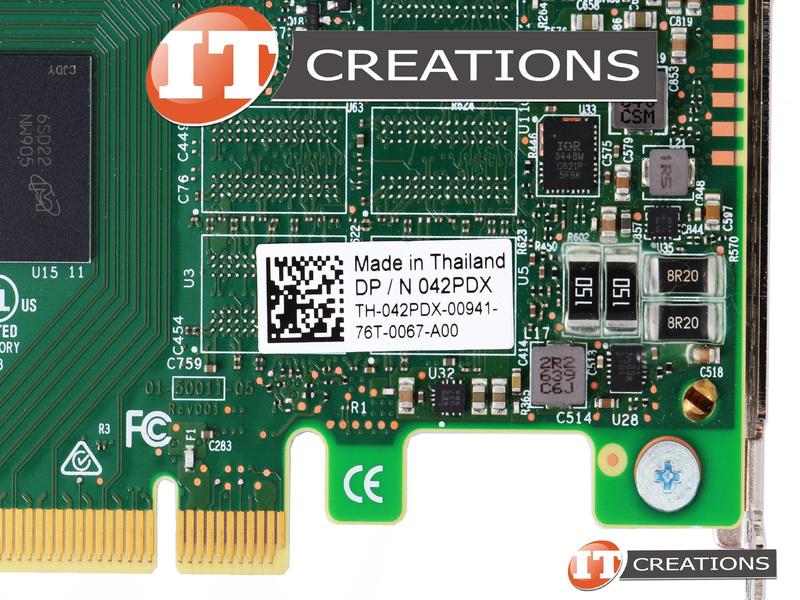 DELL MEGARAID 9460-16I 12GB/S SAS+SATA+PCIE NVME RAID CONTROLLER 42PDX-HIGH  P