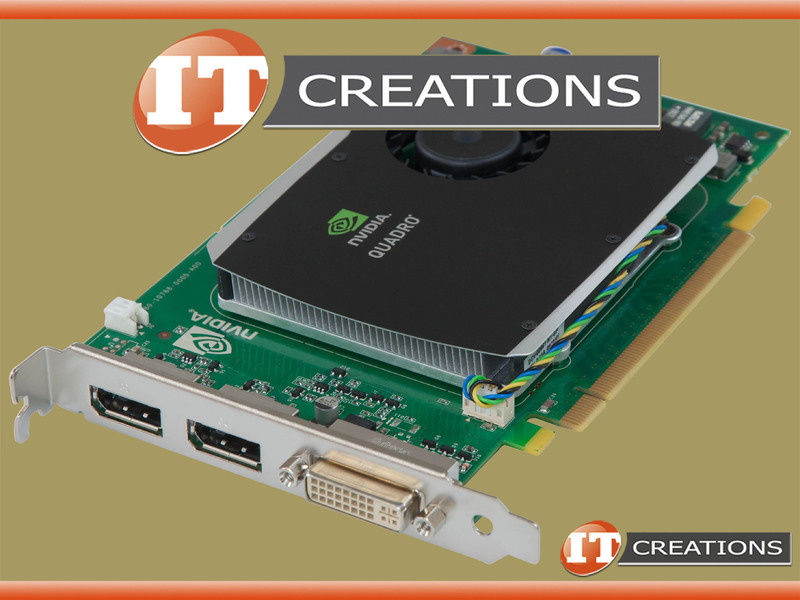 43V5889 - Refurbished - IBM NVIDIA QUADRO FX 580 GRAPHICS CARD 512MB