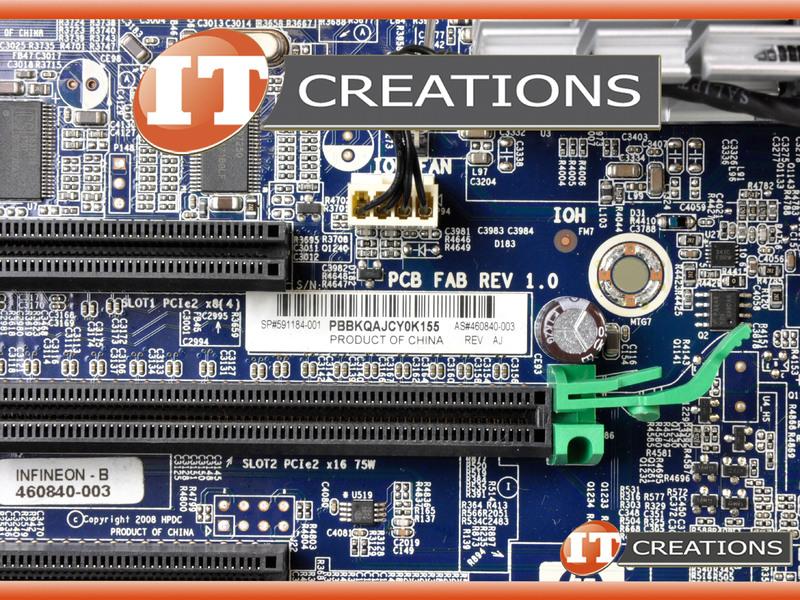 HP MOTHERBOARD FOR HP Z600 WORKSTATION - SYSTEM BOARD 591184-001