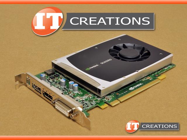 616075001  used  hp nvidia quadro 2000 graphics card