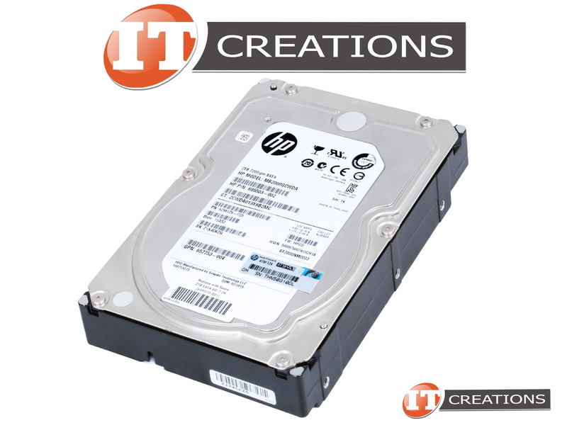491646-001 2TB 2.5 Laptop Hard Drive for HP Compaq Replaces 491644-001 491645-001