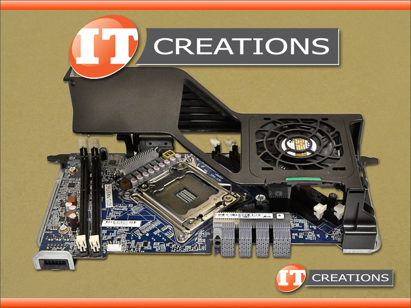 HP PRINTED CIRCUIT ASSEMBLY 2ND CPU RISER BOARD WITH FAN FOR HP Z620  689471-001