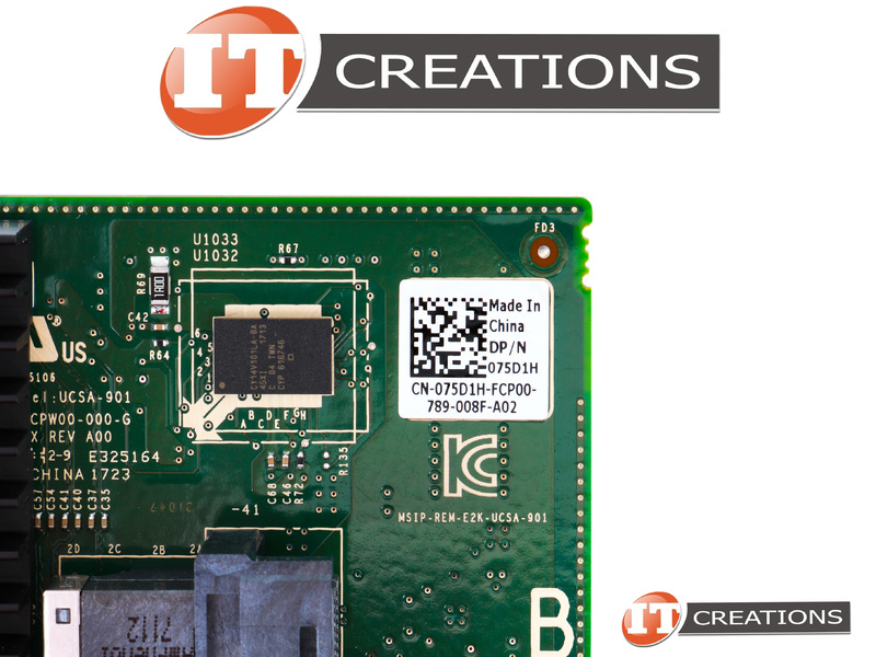 75D1H-HIGH P DELL PERC H330 12GB/S SAS EIGHT PORT PCI-E 3 0