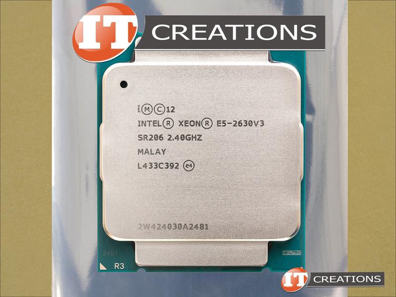 HP CPU INTEL XEON 8 CORE PROCESSOR E5-2630V3 2 4GHZ FOR HP Z640 Z840  790094-001