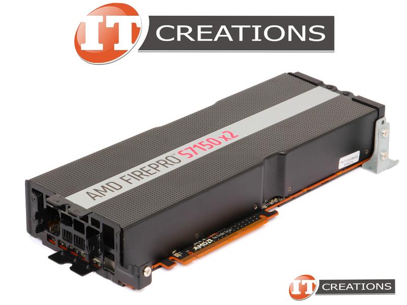 DELL AMD FIREPRO S7150X2 SERVER GPU ACCELERATOR 16GB GRAPHICS CARD GPGPU  7V18P