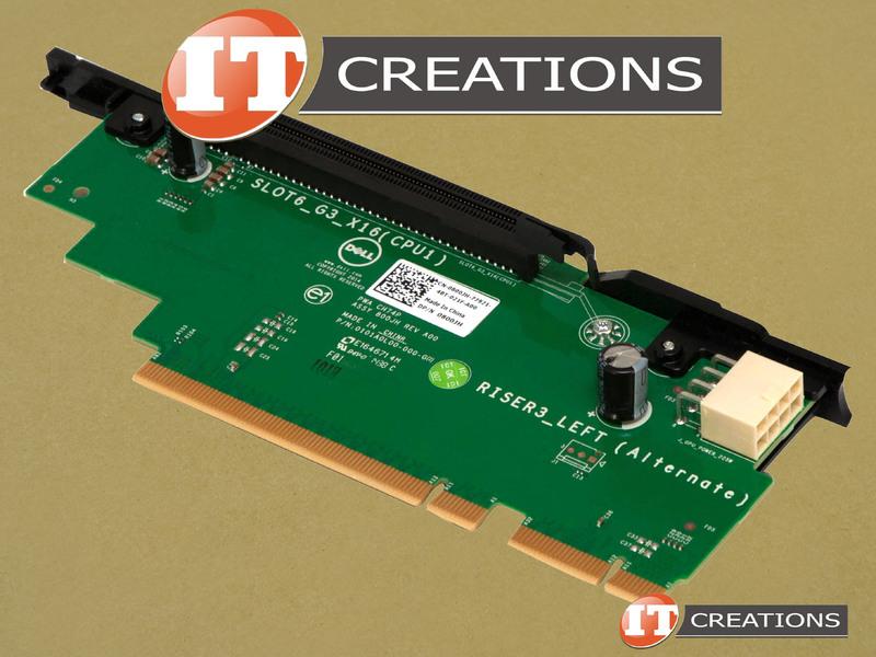 DELL PCI RISER 3 CARD FOR DELL POWEREDGE R730XD - SLOT 6 PCI-E 3 0 X16 800JH