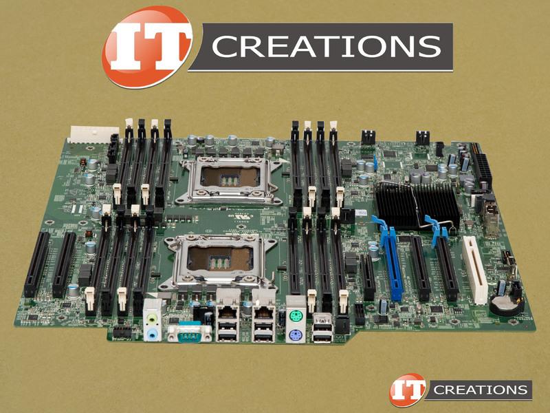 82WXT DELL MOTHERBOARD FOR DELL PRECISION T7600 - ( 2 ) DUAL CPU SOCKE