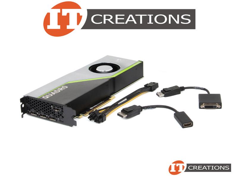 NVIDIA QUADRO RTX 6000 TURING GPU 24GB VIDEO CARD 900-5G150-2550-000-RETAIL