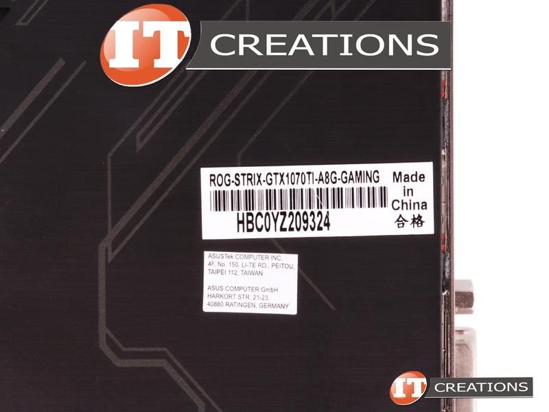 90YV0BI0-M0NA00 - Used - ASUS NVIDIA GEFORCE GTX 1070 TI STRIX GAMING
