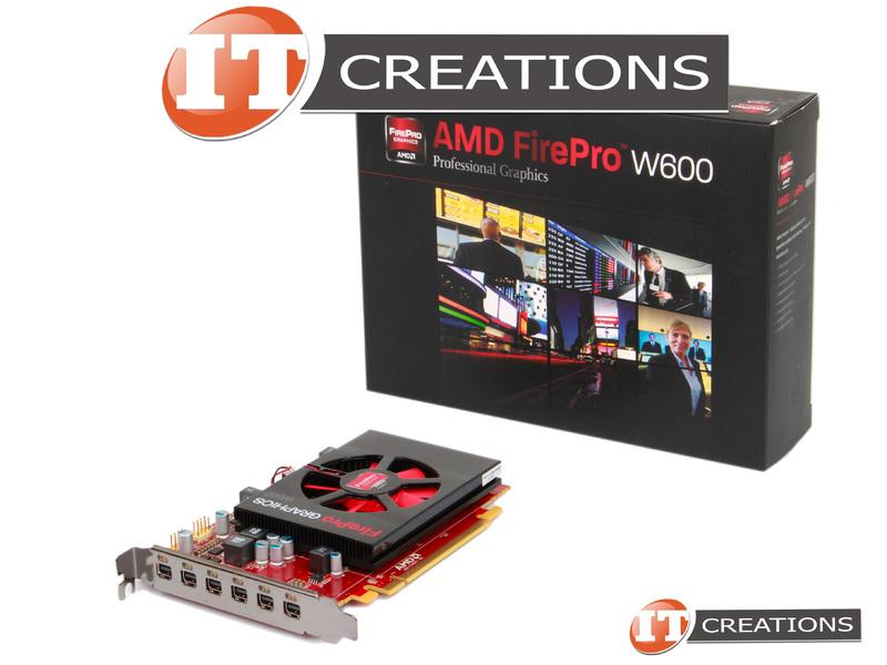 AMD FIREPRO W600-NEW - New - AMD FIREPRO W600 PROFFESIONAL GRAPHICS 2